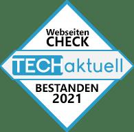 Zertifikat durch Tech-Aktuell ausgestellt